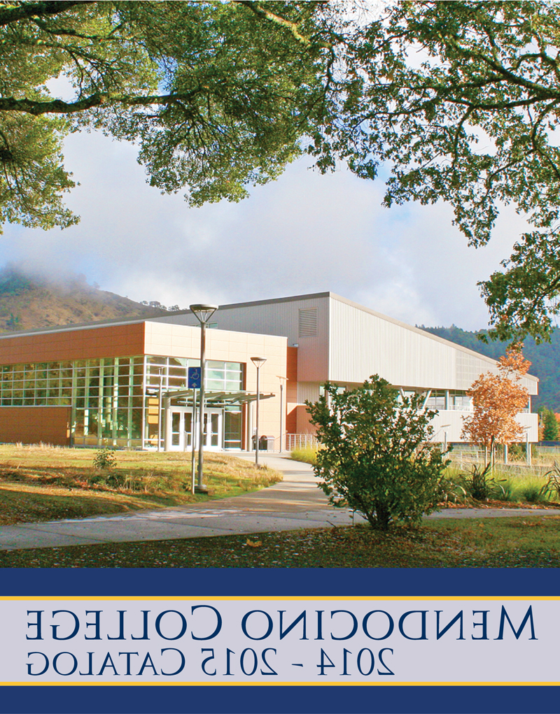 2014-2015 college catalog cover
