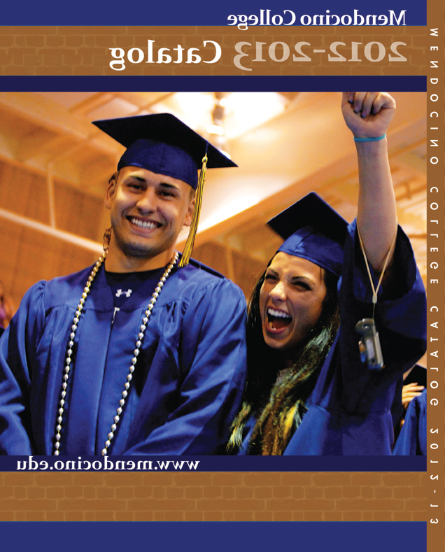 2012-2013 college catalog cover